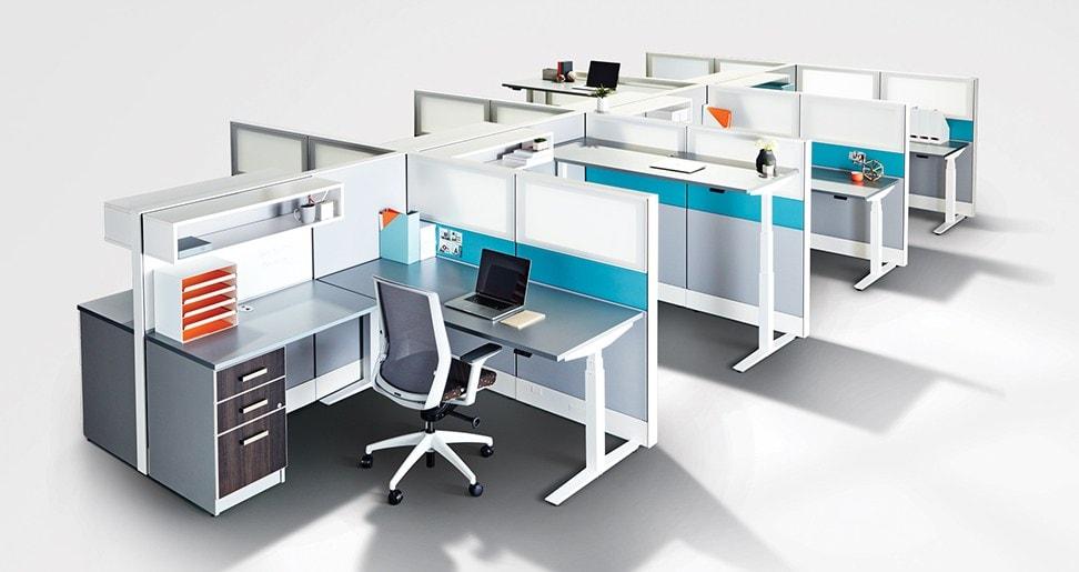 Ergonomic Workstations & Cubicles