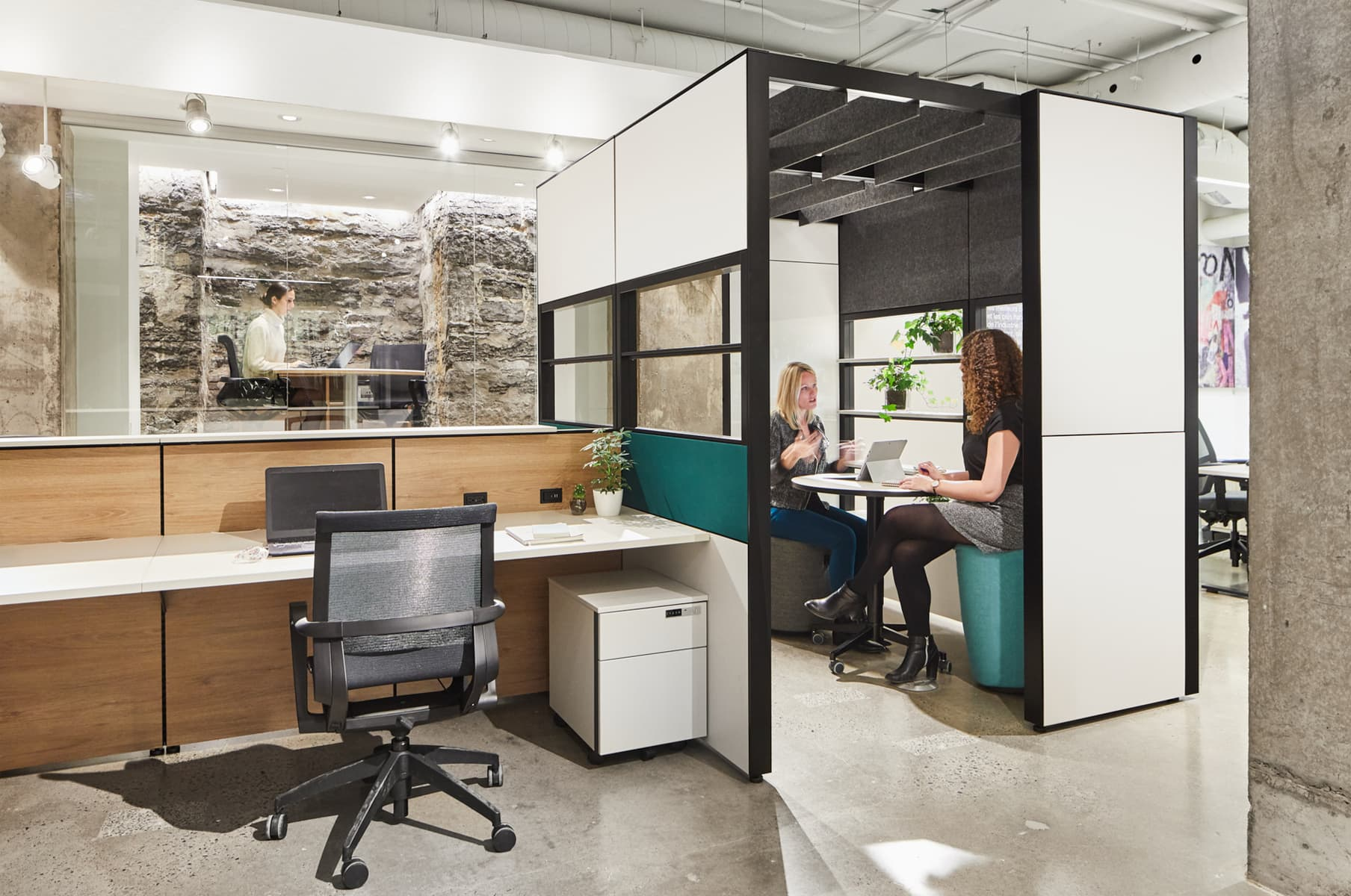Workspace Design that support Corporate Goals by getting workers engaged