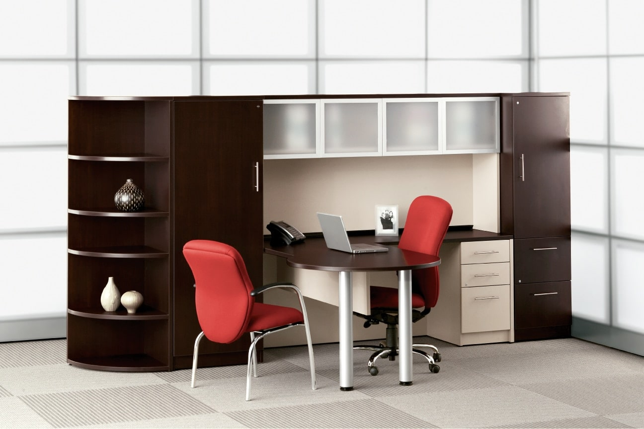 Office Furniture: Freestanding Private Office Desks, Ottawa, Halifax, St. John's & Moncton