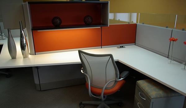 Remanufactured Workstations from e3 Office Furniture, Halifax, NS